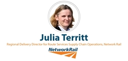 Network Rail's Julia Territt on working with the supply chain