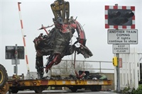 Fatal smash at level crossing prompts safety calls