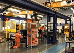 On the right track, Sulzer is awarded RISAS accreditation for Nottingham Service Centre