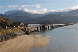 Biggest restoration of Barmouth Viaduct in its history