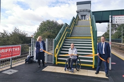 DfT 'Access for All' programme has transformed Cadoxton station