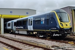 SWR Wimbledon depot welcomes first 701 train