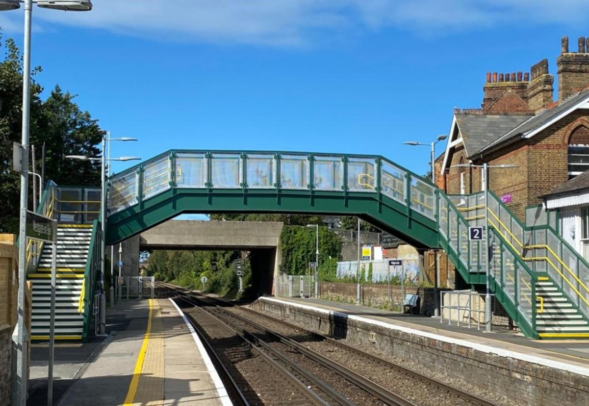 New bridge at Westgate-on-Sea