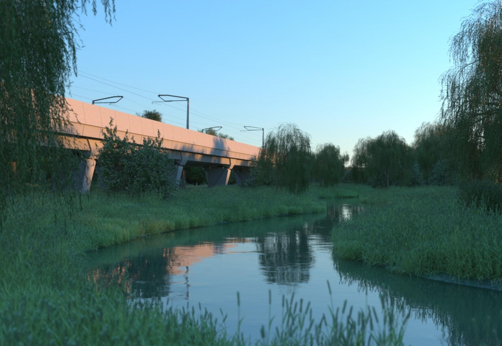 HS2 publishes viaduct designs for Edgcote and Lower Thorpe