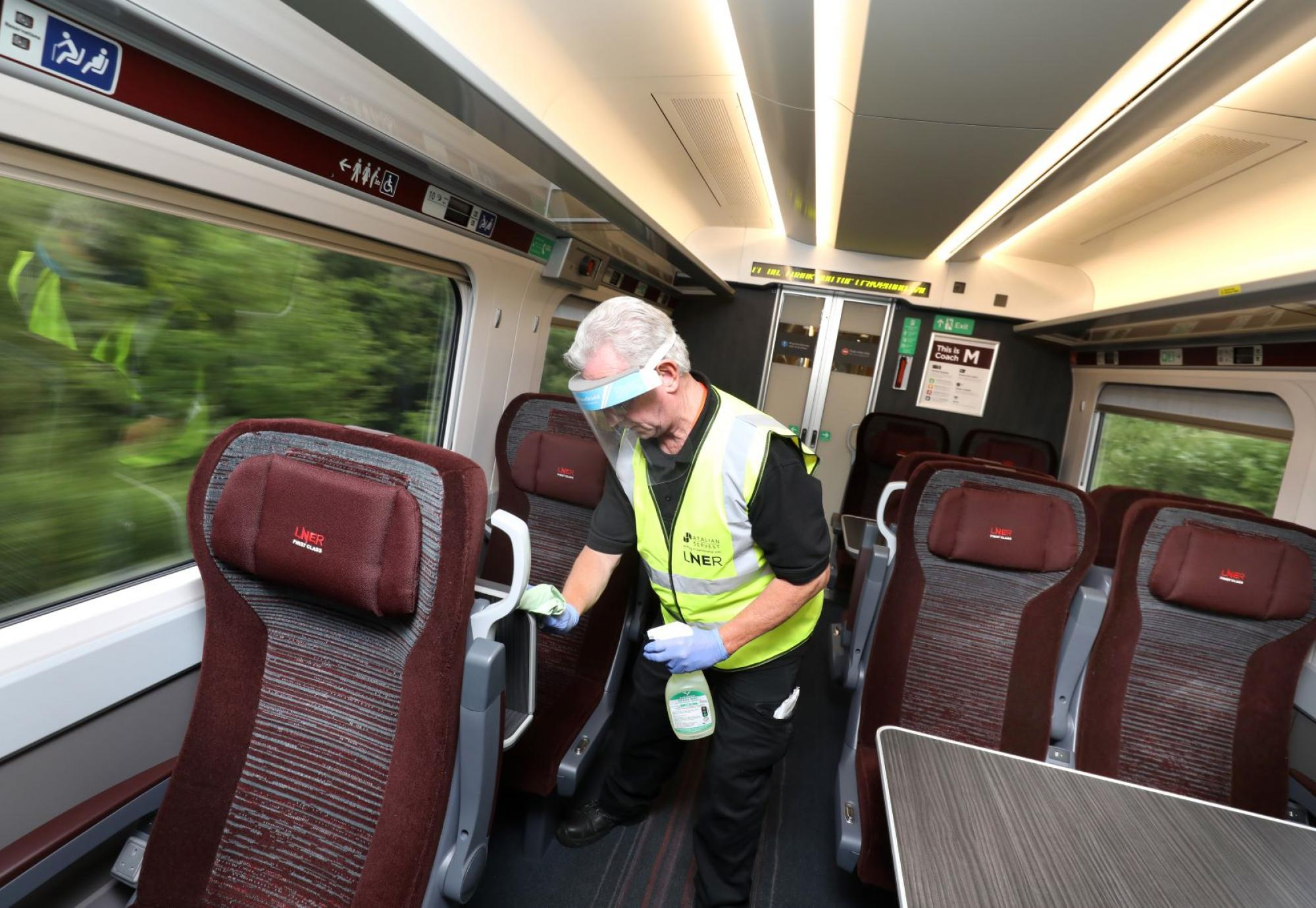 LNER: Record cleaning measures continue to keep customers safe