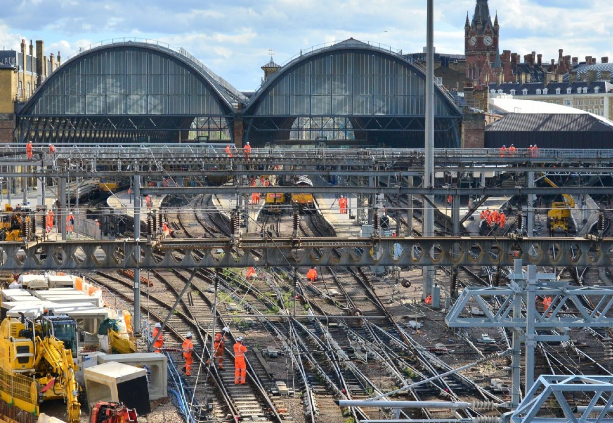 Kings Cross, where major work is taking place