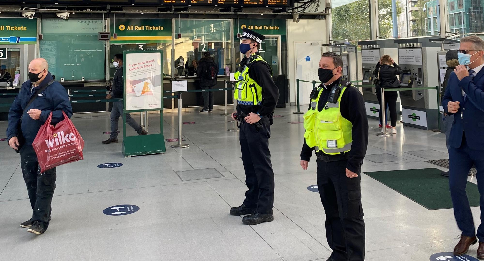 New pilot launches with BTP and London rail companies