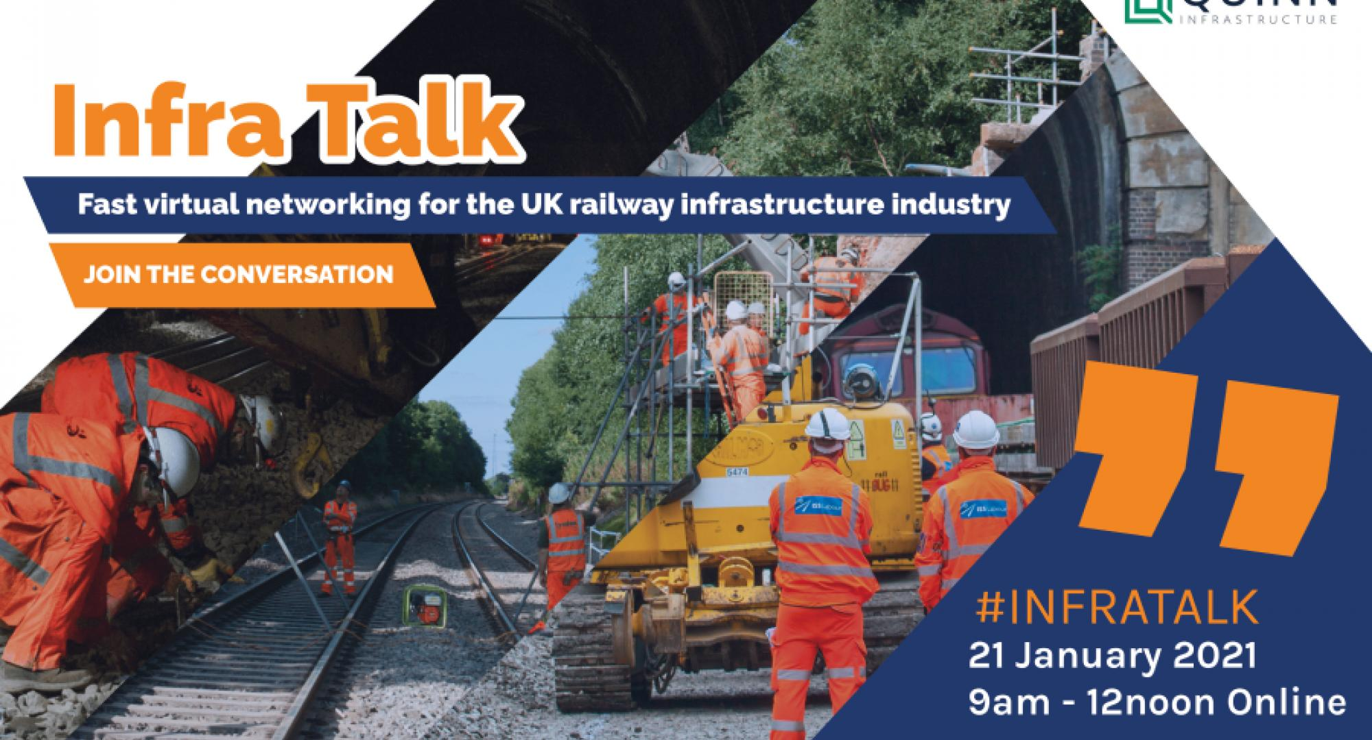Rail Forum Midlands launch virtual Infra Talk event