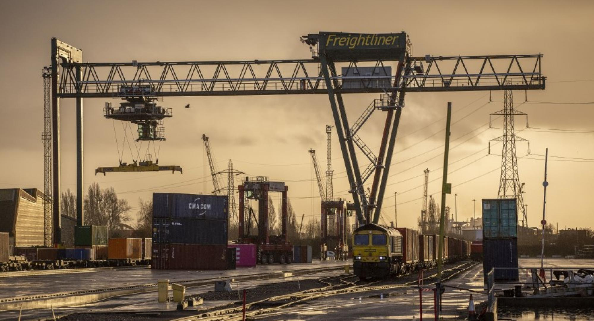 Major £17m Southampton Freight Train Lengthening project complete