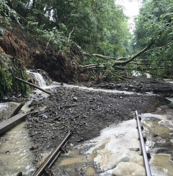 Heart of Wales line to partially reopen following storm damage