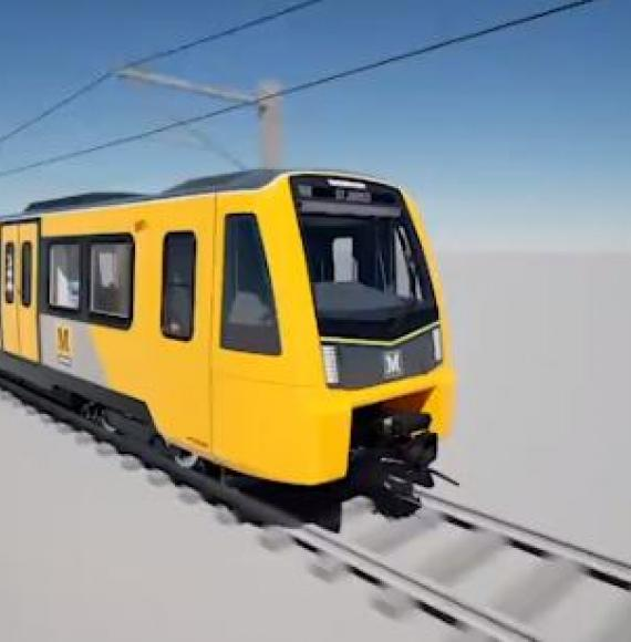 Nexus' new £362m Metro fleet keeps infamous yellow