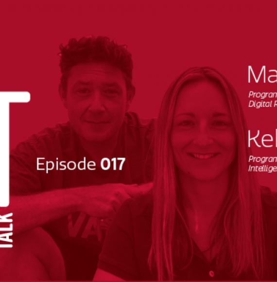 Ep.17 Becoming a data-driven railway, Kelley Quirk and Martin Mason