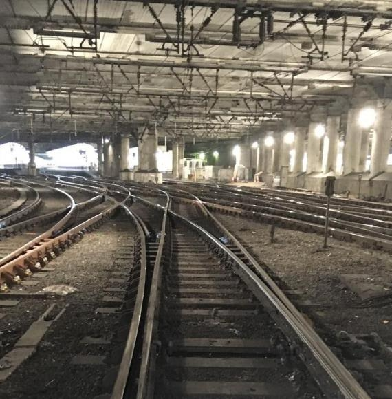 Improvements to track at Liverpool Street