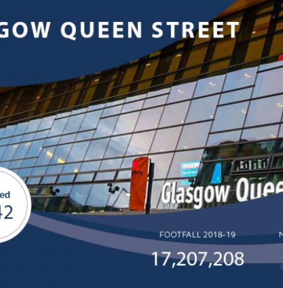 Glasgow Queen Street wins World Cup of Stations 2020