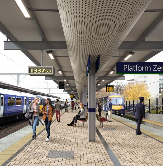 £161m upgrade at Leeds station continues