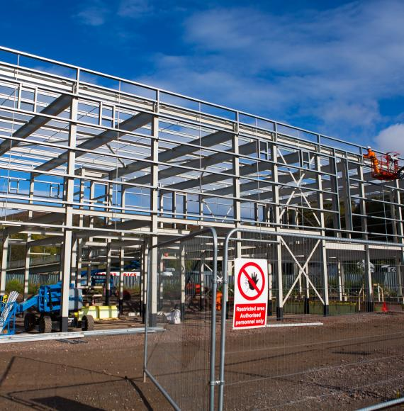 Progress continues on £100m Taff's Well Metro Depot