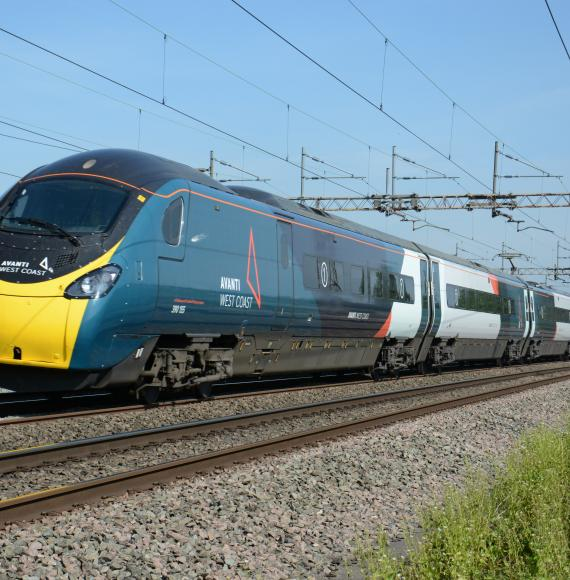 Avanti West Coast Pendolino Train