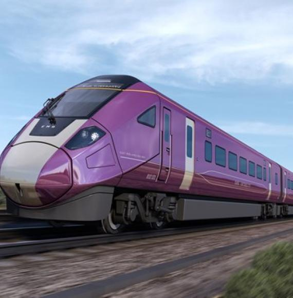 The new Aurora fleet to run on East Midlands Railway