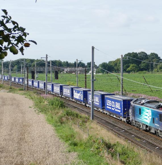 DRS - Tesco freight train