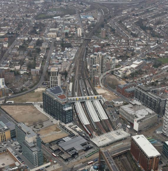 Network Rail plan to alter Croydon railway bottleneck