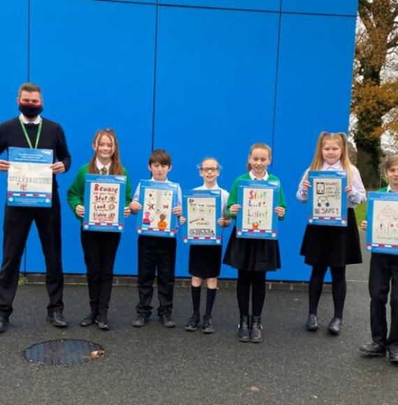 Lingwood Primary safety poster initiative