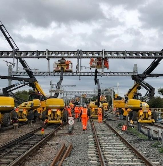 Electrification at Bristol Parkway