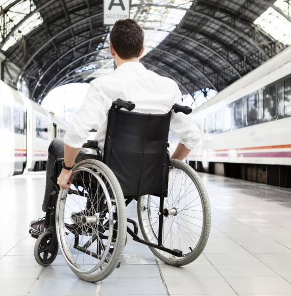 In Europe: Disability groups look to lose out on EU rail passenger rights reform legislation.
