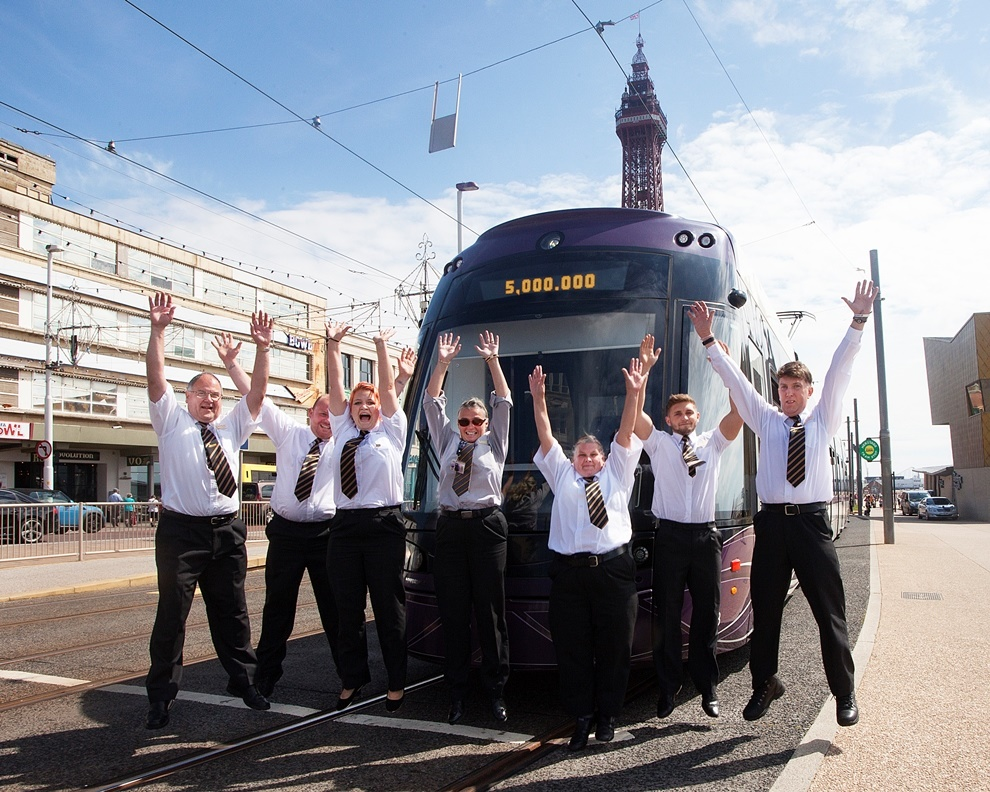 Blackpool tram passenger numbers back on the rise after 2014 dip