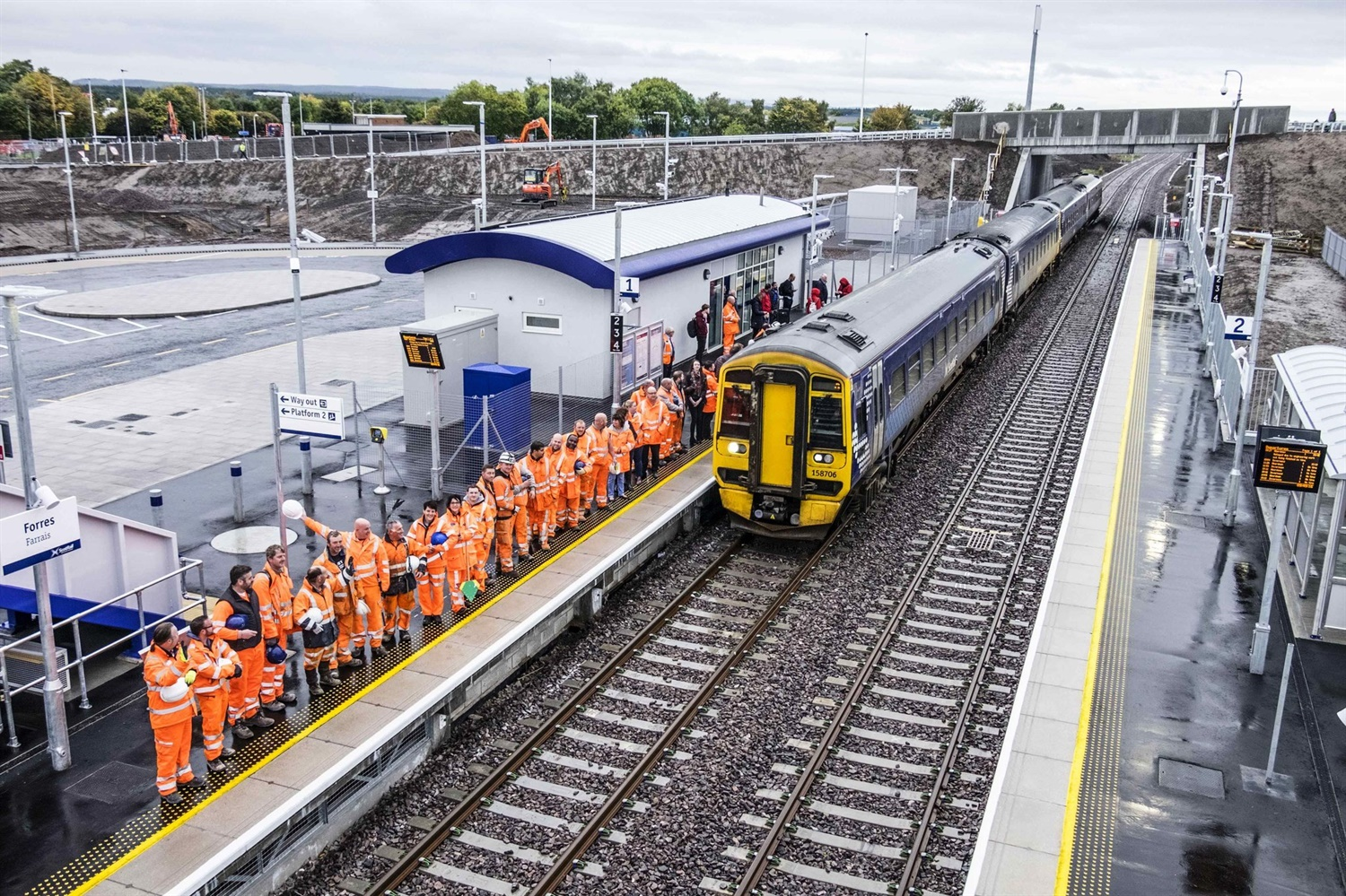 Forres station to 'transform' Scottish rail travel