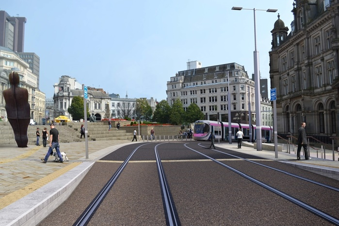 Birmingham to introduce UK's first battery-operated trams