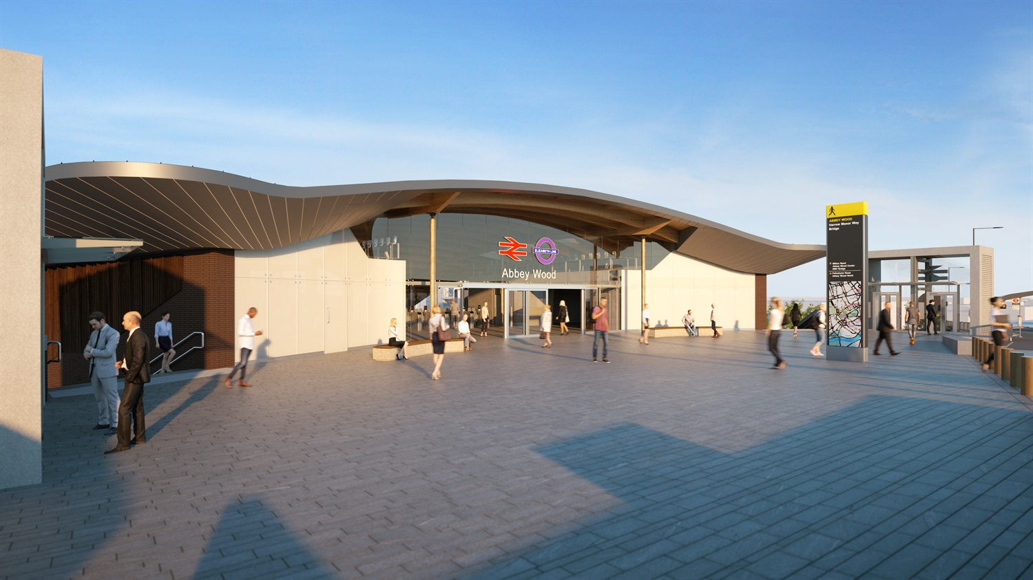 Work moves forward to prepare Abbey Wood station for Crossrail