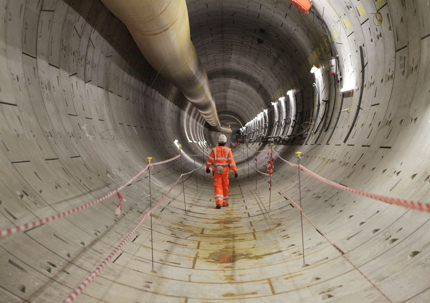 Crossrail documents reveal 'lack of welfare' for workers on site