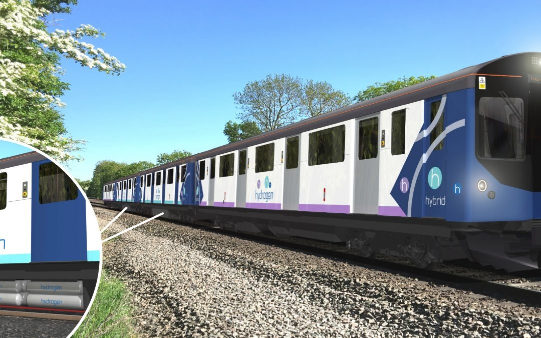 Vivarail unveils plans to build new hydrogen trains
