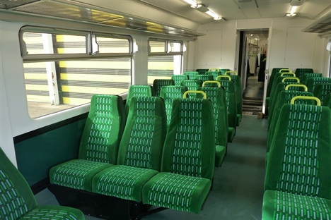 Interior refurbishment for London Midland Class 150s