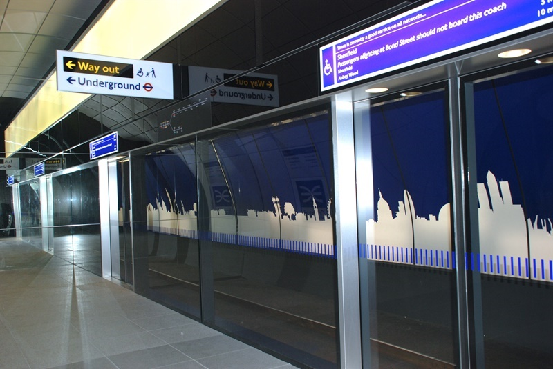 Step-free access for all Crossrail stations