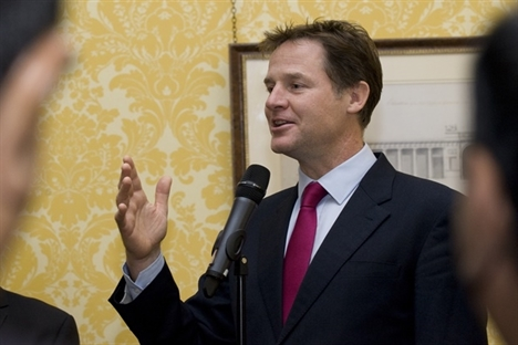 Clegg pledges more money for electrification and Pacer replacement