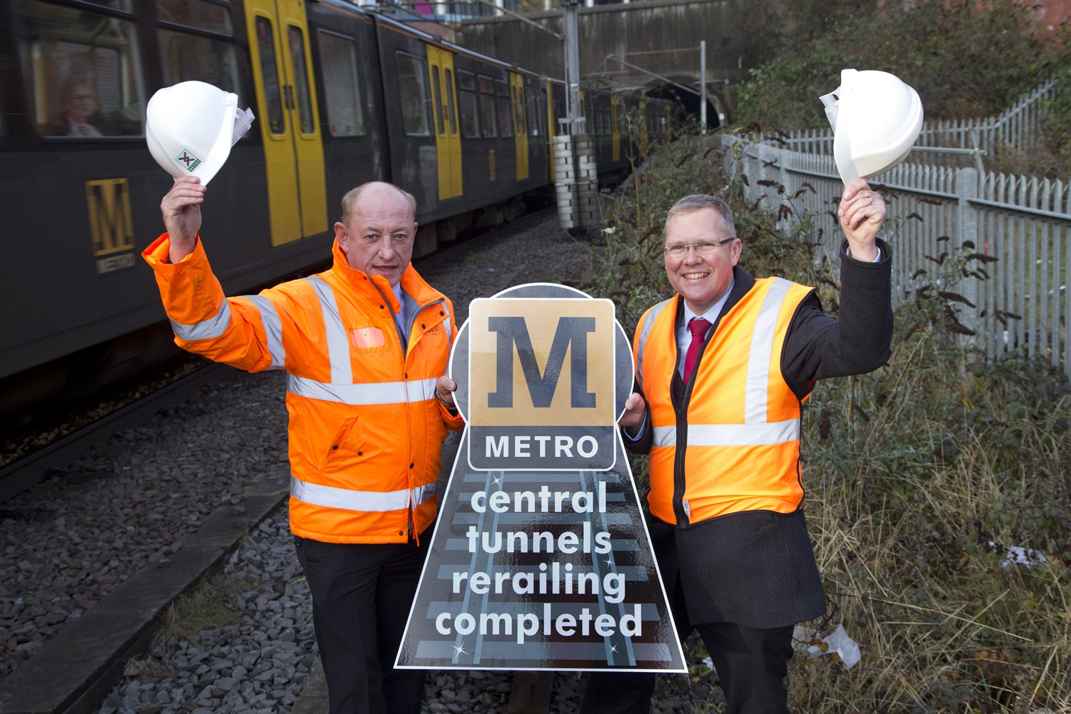 Tyne and Wear Metro completes £3m tunnel track replacement