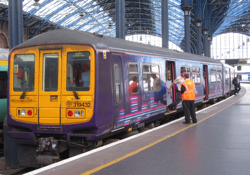 First class 319s arrive in Liverpool for driver training