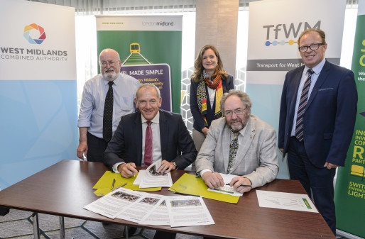 London Midland signs new agreement with Transport for West Midlands