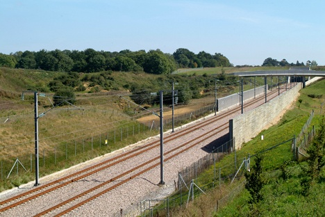 Freight launched on HS1