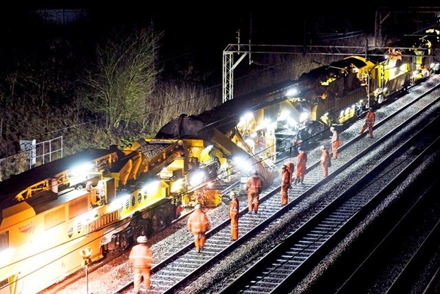 Four-year track renewal programme completed in Yorkshire