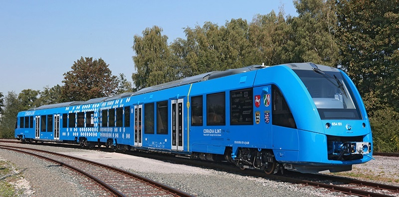 Successful test run for world's first hydrogen-powered passenger train