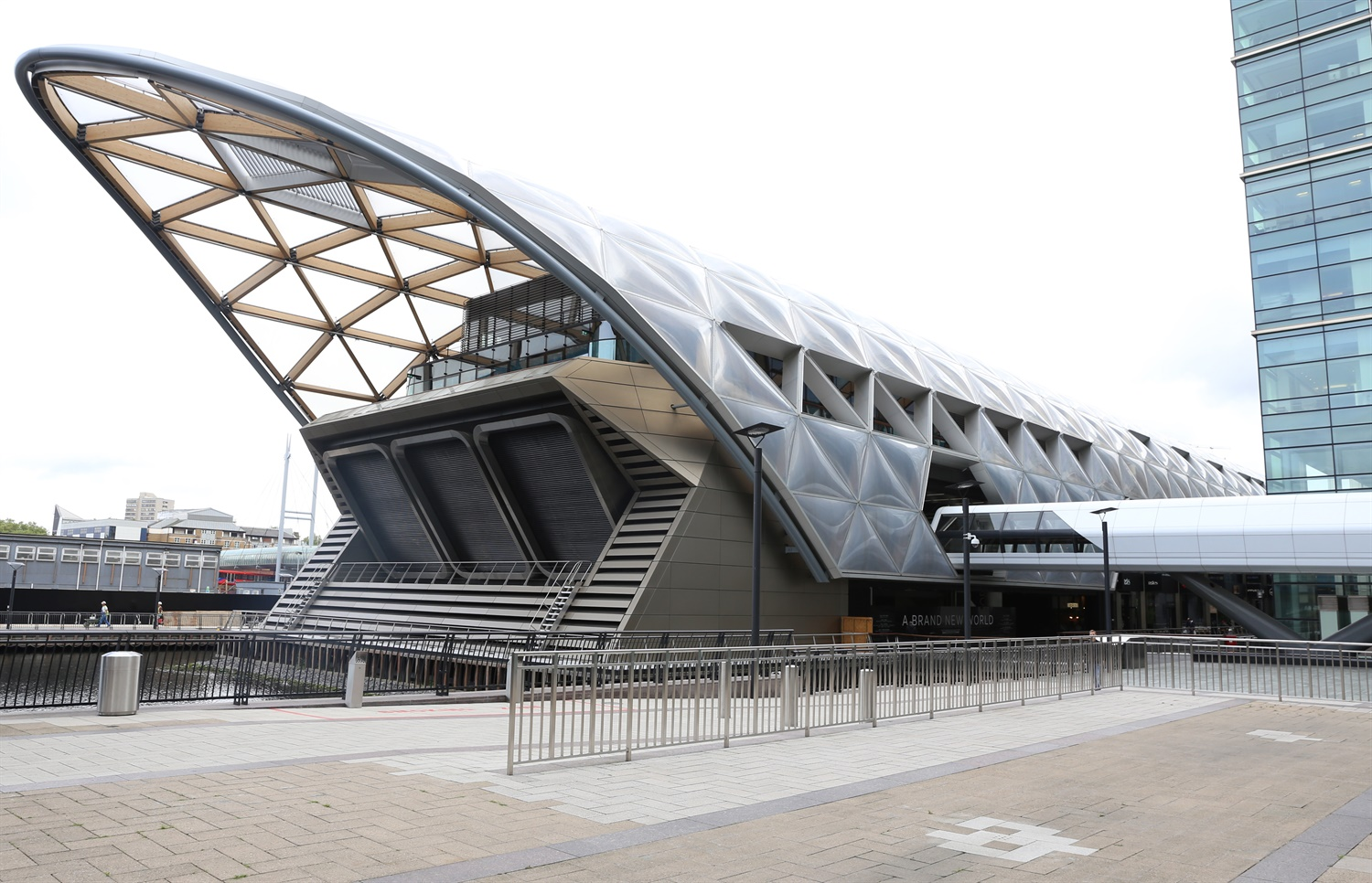Construction of first Crossrail station building complete