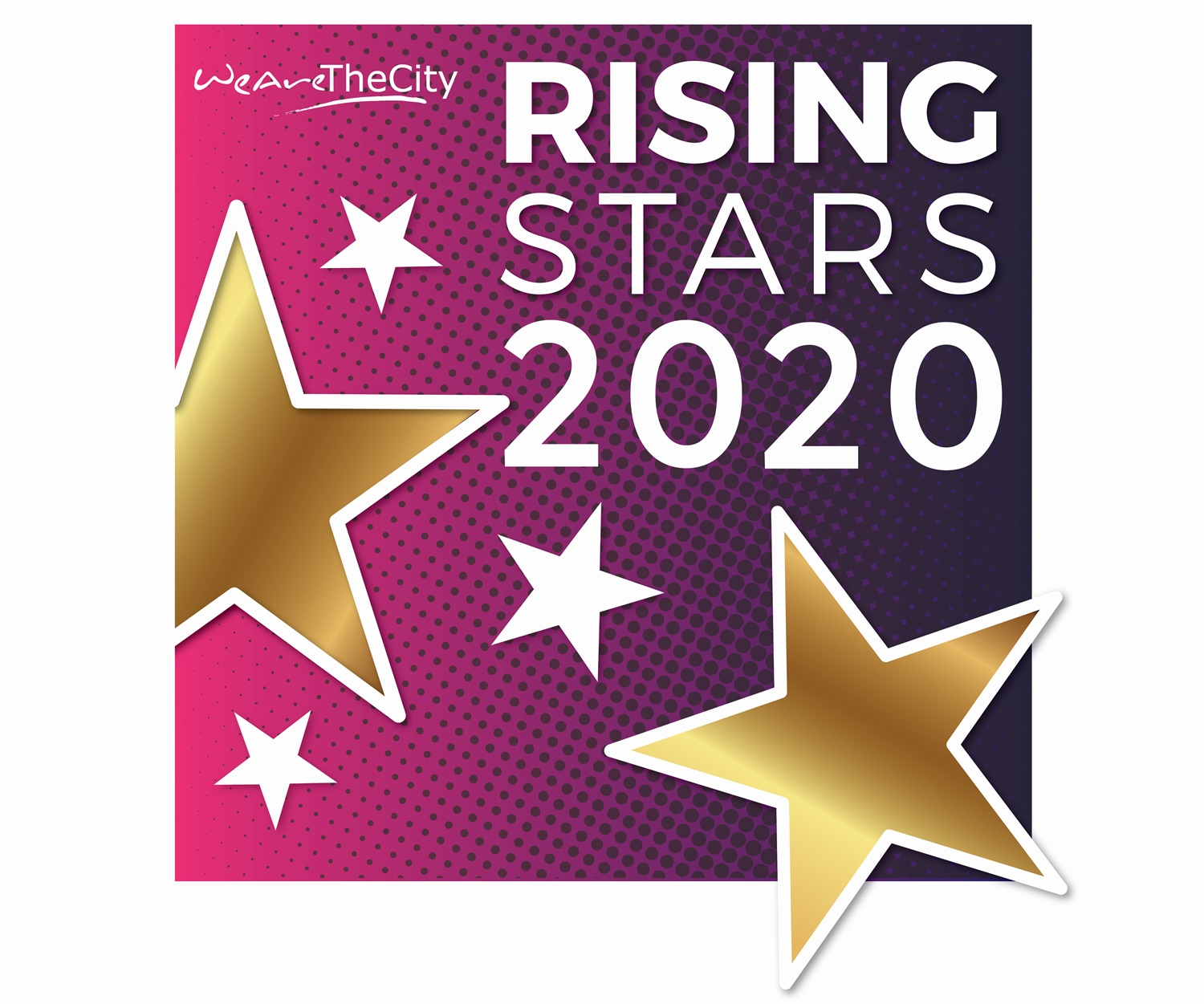 RTM proud supporters of WeAreTheCity Rising Stars Awards 2020