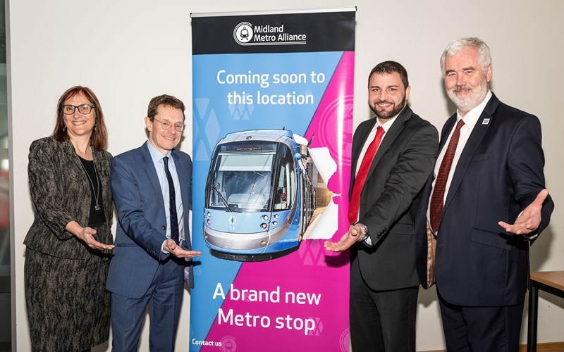 WMCA approves £450m funding for 'game-changing' Midlands Metro extension