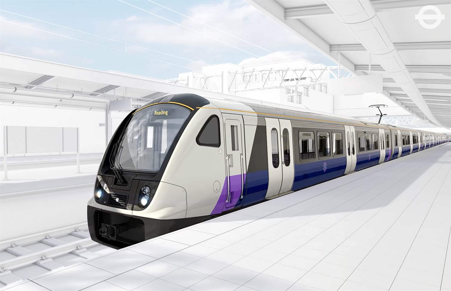 Crossrail unveils first images of Bombardier's Aventra train design