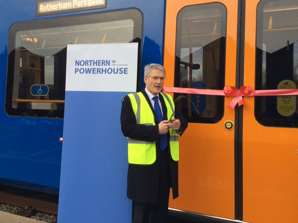 Sheffield Nunnery depot welcomes UK's first tram-train