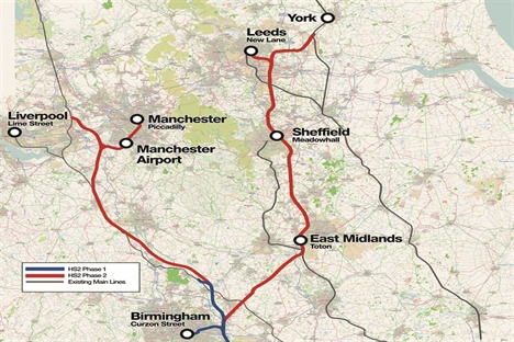East Midlands HS2 tunnel could be extended