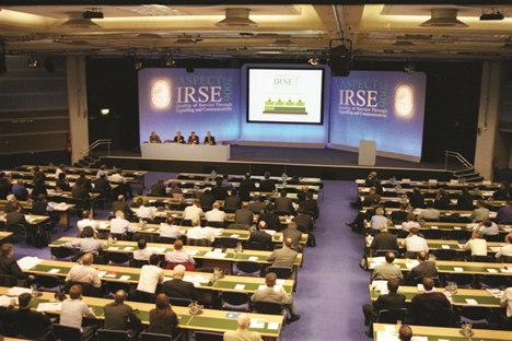 Royal guest for IRSE at ASPECT 2012