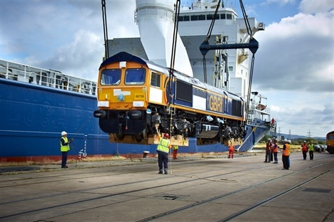 Last GB Railfreight Class 66 locomotives arrive in UK